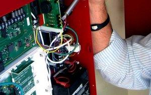 Установка автоматической пожарной сигнализации