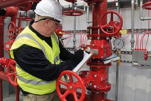 Обслуживание пожарных систем