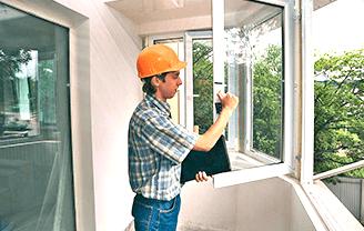 Ремонт и регулировка алюминиевых окон