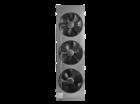 """Электрокамин Alex Bauman Bergamo (белый шоколад) 3D Fog 25"""""""