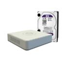 Видеорегистратор Hikvision DS-7104HGHI-E1+ WD10PURX